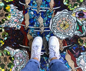 art, colors, and levis image