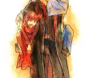 anime, kagura, and gintama image