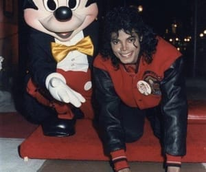 michael jackson and mickey mouse image