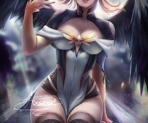 blizzard, pinup, and mercy image