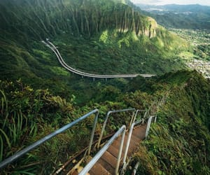 earth, green, and hawaii image