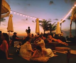 bali, bar, and beach image