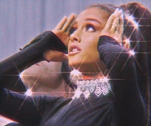 aesthetic, glitter, and dangerous woman image