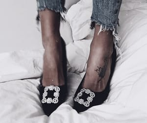 denim, details, and shoes image