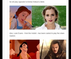 beauty and the beast, live action, and disney image