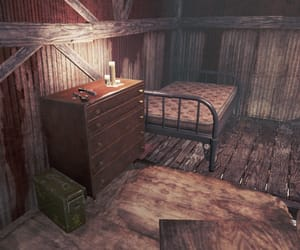 apocalypse, bedroom, and fallout image