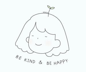 happy, quotes, and kind image