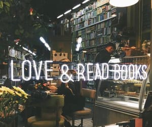 book, read, and neon image