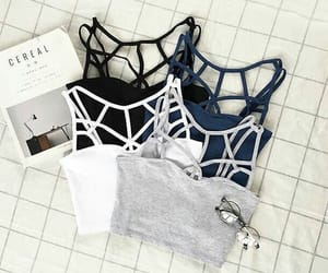 aesthetic, bralette, and clothes image