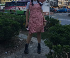 aesthetic, dr martens, and dress image