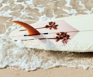 surf, surfing, and beach image