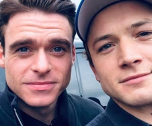 richard madden and taron egerton image