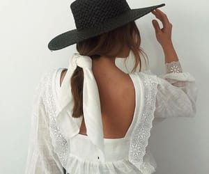 back, beauty, and casual image