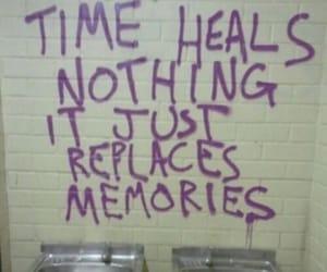 graffiti, memories, and healing image