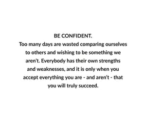 confidence, confident, and inspiration image