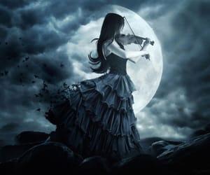 dark, night, and goth image
