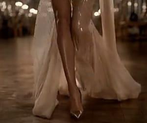 gif, dress, and legs image