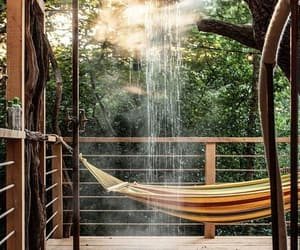 travel, hammock, and photography image