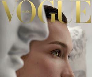 model, vogue, and bella hadid image