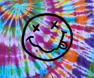 grunge, nirvana, and smiley image