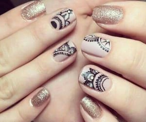 manicure, nailart, and uñas image