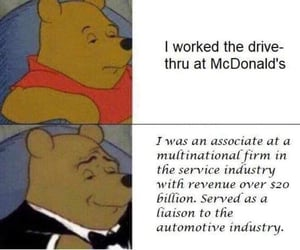 funny, memes, and mcdonald's image