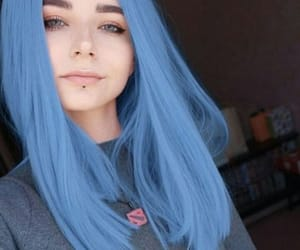 colorful hair, girl, and girls image