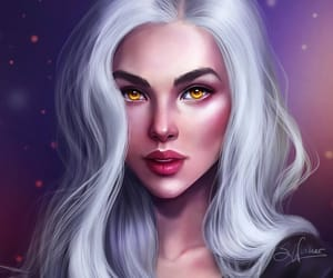 throne of glass, manon blackbeak, and sandrawintherart image