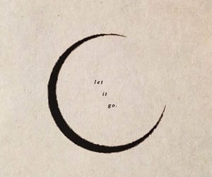 moon, quotes, and let it go image