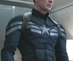 gif, chris evans, and captain america image