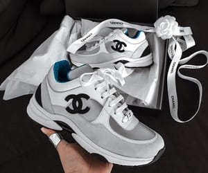chanel, sneakers, and shoes image