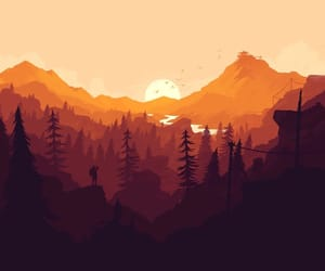 adventure, forest, and wallpaper image