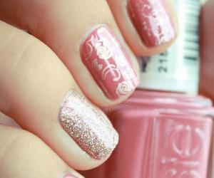 nails, pink, and pshiiit.com image