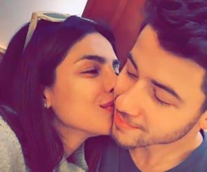 couple, kiss, and nick jonas image