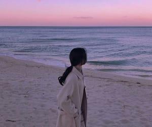 beach, korea, and korean image