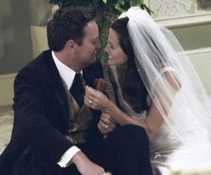 wedding, monica and chandler, and love image