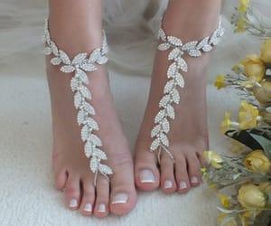 etsy, beach wedding, and crystal bracelet image