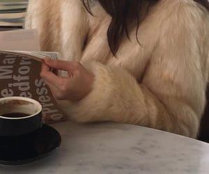 girl, coffee, and aesthetic image