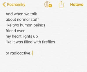 fireflies, friendship, and poem image