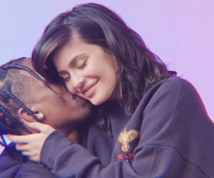 kylie jenner, couple, and love image