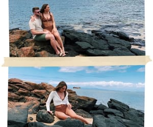 bathing suit, vacation, and beach image