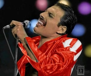 beautiful, famous, and Freddie Mercury image