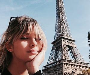 girl, paris, and pretty image