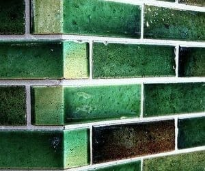 green and dark image