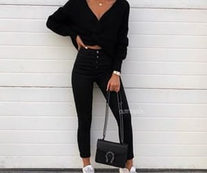 fashion and all black image