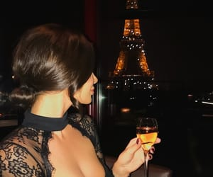 champagne, travel, and eiffel tower image