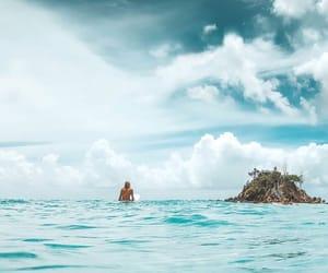 australia, blue, and beach image