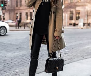 blogger, Burberry, and chanel image