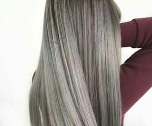 gray and hair image