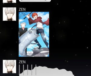 chat, mystic messenger, and MM image